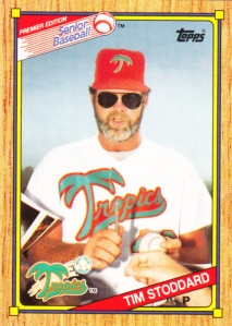 1989-90 Topps SPBA Tim Stoddard