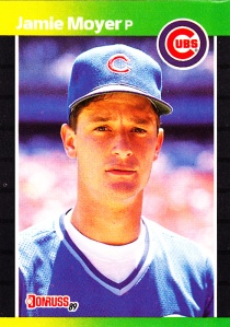 1989 Donruss Jamie Moyer