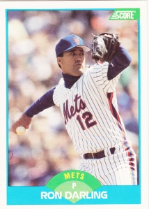1989 Score Ron Darling