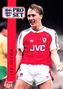 1990-91 Pro Set FA Lee Dixon