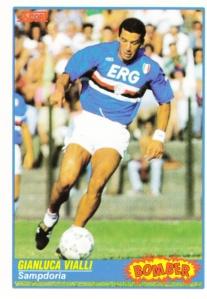 1991-92 Score Italian Football Gianluca Vialli