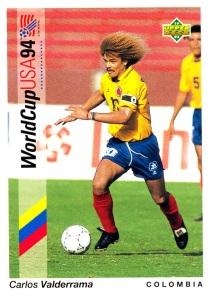 1993 Upper Deck World Cup Carlos Valderrama_0001