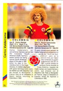 1993 Upper Deck World Cup Carlos Valderrama_0002