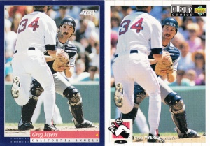 1994 Greg Myers Score and Collectors Choice