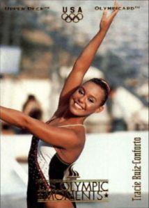 1996 Upper Deck Olympicard Tracie Ruiz-Conforto (image off web)