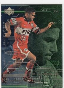 2000 Upper Deck MLS Chris Armas All-MLS