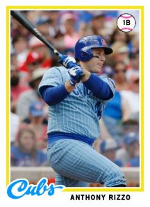 2014 TSR 1978 #1 Anthony Rizzo