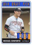 2014 TSR #401 Michael Conforto Draft Pick