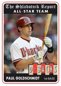 2014 TSR #459 Paul Goldschmidt AS