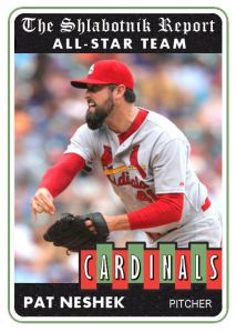 2014 TSR #460 Pat Neshek AS