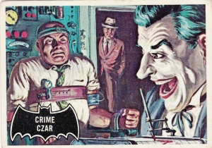 1966 Topps Batman Black Bat Crime Czar