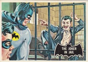 1966 Topps Batman Black Bat The Joker In Jail