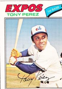 1977 OPC Tony Perez