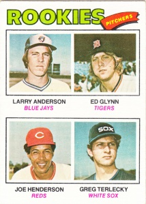 1977 Topps Rookie Pitchers 487