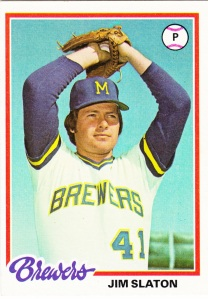 1978 Topps Jim Slaton