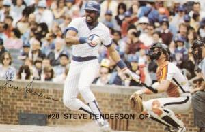 1982 Red Lobster Steve Henderson