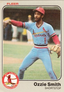 1983 Fleer Ozzie Smith