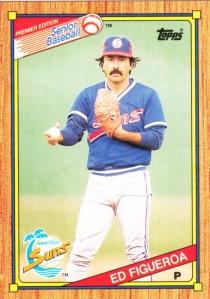1989-90 Topps SPBA Ed Figueroa