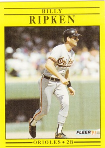 1991 Fleer Billy Ripken