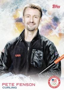 2014 Topps Olympics Pete Fenson