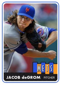 2014 TSR #487 Jacob deGrom