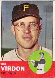 1963 Topps Bill Virdon