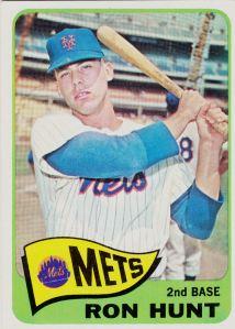 1965 Topps Ron Hunt