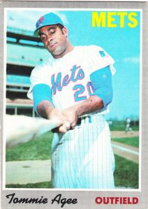 1970 Topps Tommie Agee