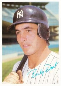 1981 Topps Mets-Yankees 5x7 Bucky Dent