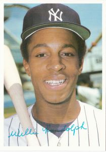 1981 Topps Mets-Yankees 5x7 Willie Randolph