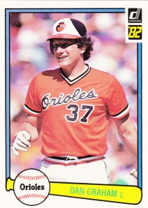 1982 Donruss Dan Graham