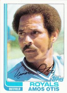 1982 Topps Amos Otis