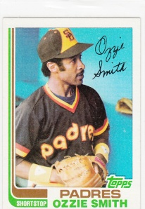 1982 Topps Ozzie Smith