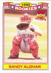 1991 Topps Glossy Rookies Sandy Alomar