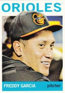 2013 Topps Heritage Hi#'s Freddy Garcia