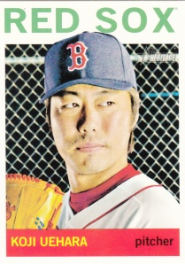 2013 Topps Heritage Hi#'s Koji Uehara