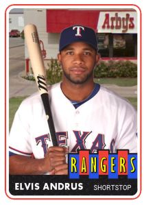 2014 TSR #115-A Elvis Andrus Arby's