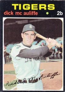 1971 Topps Dick McAuliffe