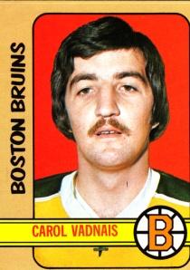 1972-73 Topps Hockey Carol Vadnais