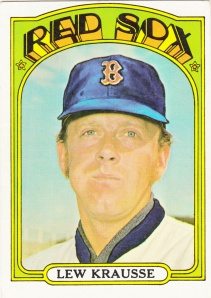 1972 Topps Lew Krausse
