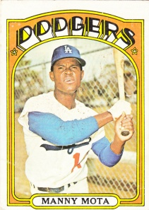 1972 Topps Manny Mota