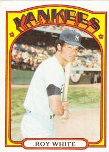 1972 Topps Roy White