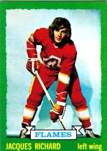 1973-74  OPC Hockey Jacques Richard