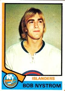 1974-75 Topps Hockey Bob Nystrom