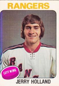 1975-76 OPC Hockey Jerry Holland