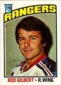 1976-77 Topps Hockey Rod Gilbert