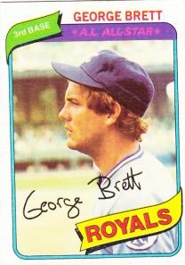 1980 Topps George Brett