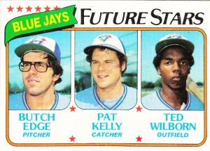 1980 Topps Jays Future Stars Edge Kelly Wilborn
