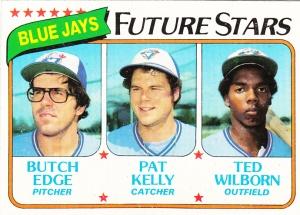 1980 Topps Jays Future Stars Edge Kelly Wilborn
