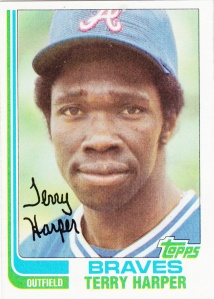 1982 Topps Terry Harper